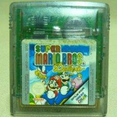 Videojuegos y Consolas: SUPER MARIO BROS DELUXE, GAME BOY COLOR, GAMEBOY COLOR, NINTENDO, JUEGO. Lote 27496522