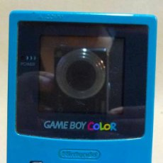 Videojuegos y Consolas: GAMEBOY COLOR, GAME BOY, CONSOLA, COLOR VERDE AZULADO, FUNCIONA,. Lote 27497041