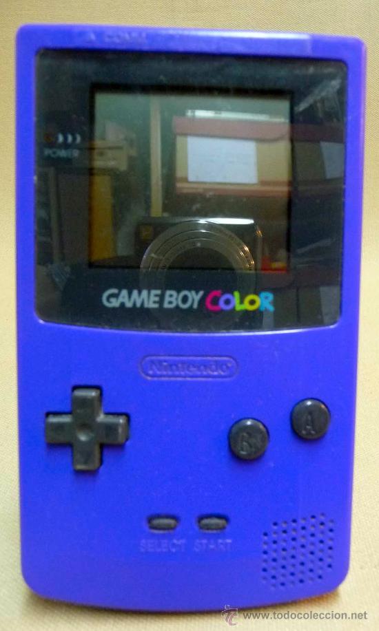 Videojuegos y Consolas: GAMEBOY COLOR, GAME BOY, CONSOLA, COLOR AZUL, FUNCIONA, - Foto 6 - 27496891