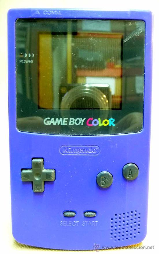Videojuegos y Consolas: GAMEBOY COLOR, GAME BOY, CONSOLA, COLOR AZUL, FUNCIONA, - Foto 2 - 27496891