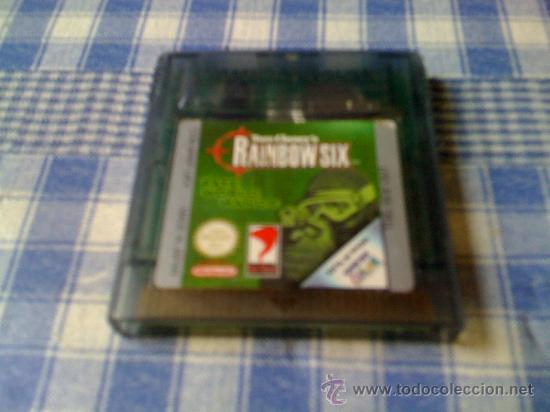 RAINBOW SIX PARA NINTENDO GAMEBOY COLOR GBC SOLO CARTUCHO - NO FUNCIONA (Juguetes - Videojuegos y Consolas - Nintendo - GameBoy Color)