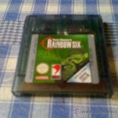 Videojuegos y Consolas: RAINBOW SIX PARA NINTENDO GAMEBOY COLOR GBC SOLO CARTUCHO - NO FUNCIONA. Lote 58494805