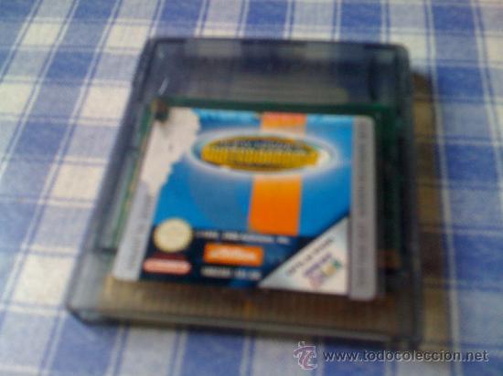 TONY HAWK´S SKATEBOARDING PARA NINTENDO GAMEBOY COLOR GBC Y GAME BOY ADVANCE GBA SOLO CARTUCHO (Juguetes - Videojuegos y Consolas - Nintendo - GameBoy Color)