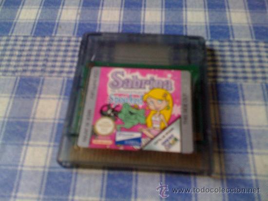 SABRINA SPOOKED PARA NINTENDO GAMEBOY COLOR GBC Y GAME BOY ADVANCE GBA SOLO CARTUCHO (Juguetes - Videojuegos y Consolas - Nintendo - GameBoy Color)