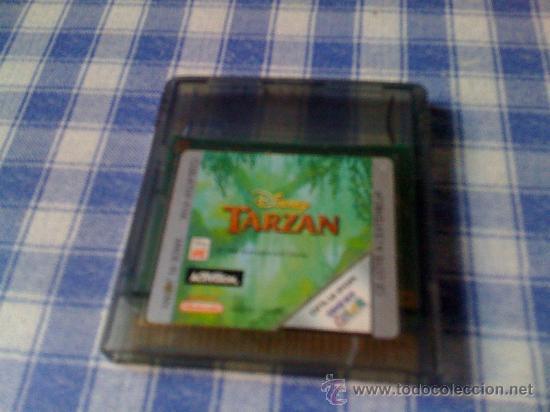 TARZAN DE DISNEY PARA NINTENDO GAMEBOY COLOR Y ADVANCE SOLO CARTUCHO NO FUNCIONA (Juguetes - Videojuegos y Consolas - Nintendo - GameBoy Color)