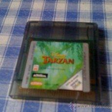 Videojuegos y Consolas: TARZAN DE DISNEY PARA NINTENDO GAMEBOY COLOR Y ADVANCE SOLO CARTUCHO NO FUNCIONA. Lote 139769697