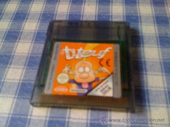 TITEUF JUEGO PARA NINTENDO GAMEBOY COLOR Y ADVANCE SOLO CARTUCHO (Juguetes - Videojuegos y Consolas - Nintendo - GameBoy Color)