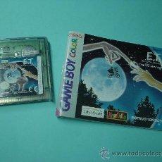 Videojuegos y Consolas: JUEGO GAMEBOY COLOR ET. EL EXTRATERRESTRE. 20 ANIVERSARIO. GAME BOY. INCLUYE INSTRUCCIONES. Lote 32184782