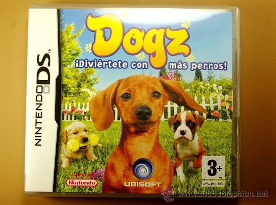 JUEGO DOGZ DE NINTENDO DS EN CASTELLANO MADE IN JAPAN COMPLETO CON INSTRUCCIONES (Juguetes - Videojuegos y Consolas - Nintendo - GameBoy Color)