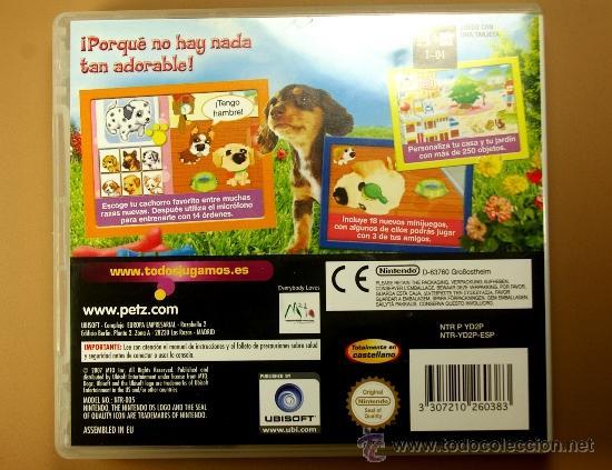 Videojuegos y Consolas: JUEGO DOGZ de NINTENDO DS en Castellano Made in JAPAN Completo con instrucciones - Foto 2 - 32399238