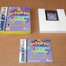 Videojuegos y Consolas: NSYNC : GET TO THE SHOW , COMPLETO PARA GAMEBOY COLOR, NTSC. Lote 33494702