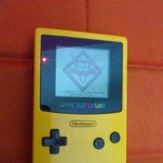 Videojuegos y Consolas: MAQUINITA NINTENDO GAME BOY COLOR. AMARILLA. FUNCIONA.. Lote 34708453