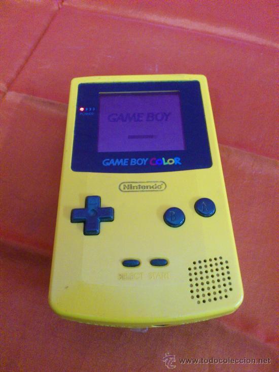 Videojuegos y Consolas: MAQUINITA NINTENDO GAME BOY COLOR. AMARILLA. FUNCIONA. - Foto 2 - 34708453