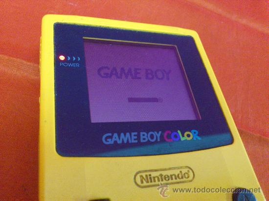 Videojuegos y Consolas: MAQUINITA NINTENDO GAME BOY COLOR. AMARILLA. FUNCIONA. - Foto 3 - 34708453