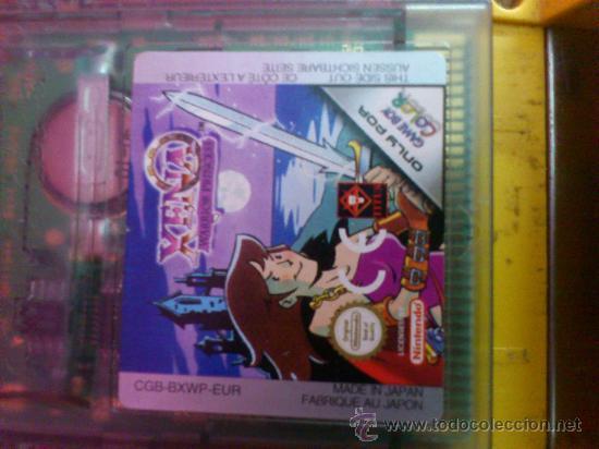 Videojuegos y Consolas: MAQUINITA NINTENDO GAME BOY COLOR. AMARILLA. FUNCIONA. - Foto 5 - 34708453