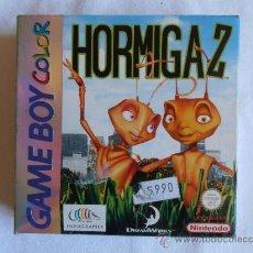 Videogiochi e Consoli: JUEGO GAME BOY COLOR NINTEDO HORMIGA Z CAJA E INSTRUCCIONES HORMIGAZ GAMEBOY. Lote 35703056