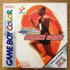 Videojuegos y Consolas: JUEGO GAMEBOY COLOR TRACK & FIELD SUMMER GAMES DE KONAMI. Lote 36631454