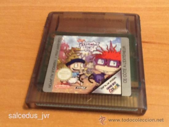 RUGRATS IN PARIS JUEGO PARA NINTENDO GAMEBOY COLOR GBC EN (Juguetes - Videojuegos y Consolas - Nintendo - GameBoy Color)