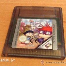Videojuegos y Consolas: RUGRATS IN PARIS JUEGO PARA NINTENDO GAMEBOY COLOR GBC EN. Lote 39535466