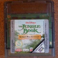 Videojuegos y Consolas: JUEGO NINTENDO GAME BOY COLOR, THE JUNGLE BOOK. Lote 38701397