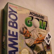 Videojogos e Consolas: ANTIGUO JUEGO NINTENDO GAME BOY - GOLF -- NUEVO EN SU CAJA CON INSTRUCCIONES SIN USAR. Lote 40700553