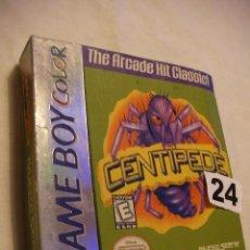 Videojuegos y Consolas: ANTIGUO JUEGO NINTENDO GAME BOY - CENTIPEDE - NUEVO EN SU CAJA SIN USAR. Lote 40700915