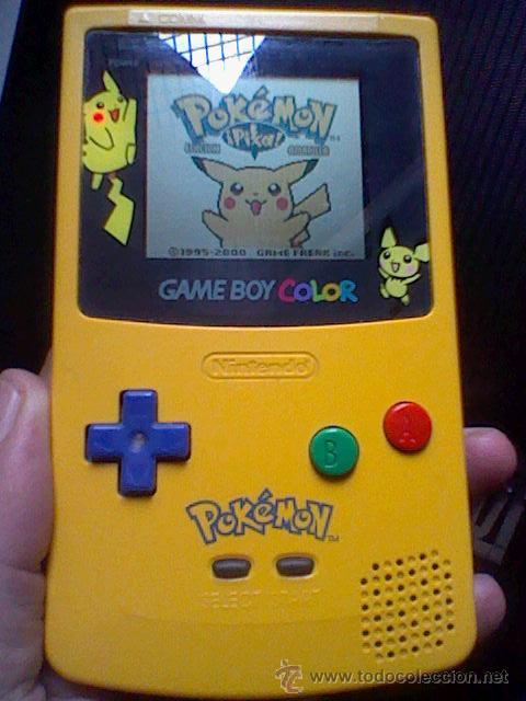 Videojuegos y Consolas: gameboy color pokemon picachu sin tapa pilas + gb color azul + juegos pokemon probado - Foto 2 - 188481806