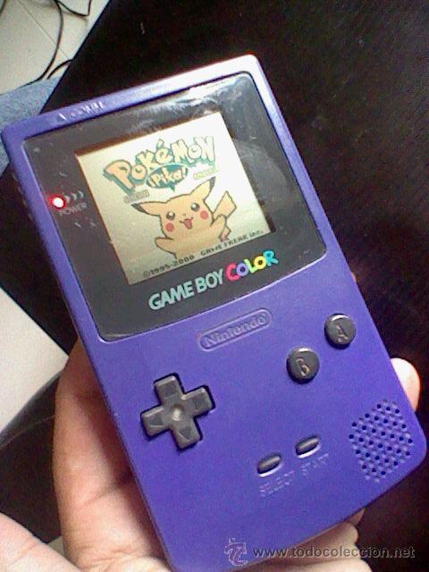 Videojuegos y Consolas: gameboy color pokemon picachu sin tapa pilas + gb color azul + juegos pokemon probado - Foto 3 - 188481806