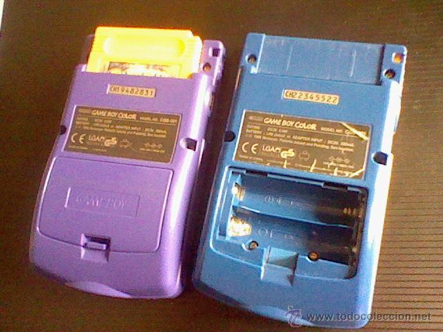 Videojuegos y Consolas: gameboy color pokemon picachu sin tapa pilas + gb color azul + juegos pokemon probado - Foto 4 - 188481806
