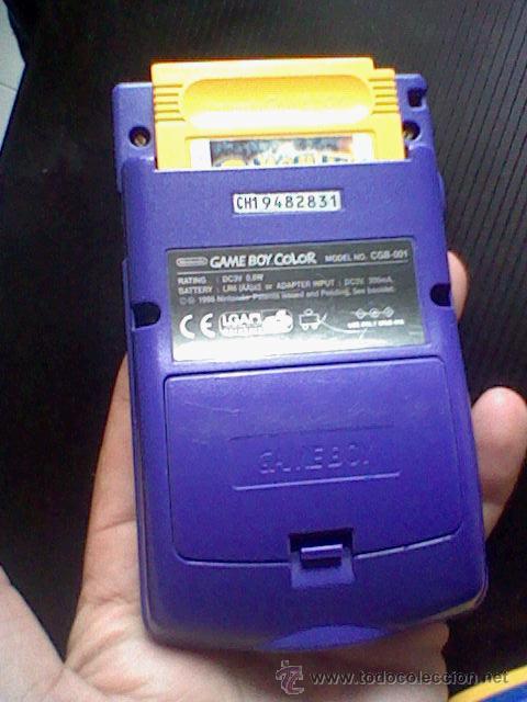 Videojuegos y Consolas: gameboy color pokemon picachu sin tapa pilas + gb color azul + juegos pokemon probado - Foto 6 - 188481806