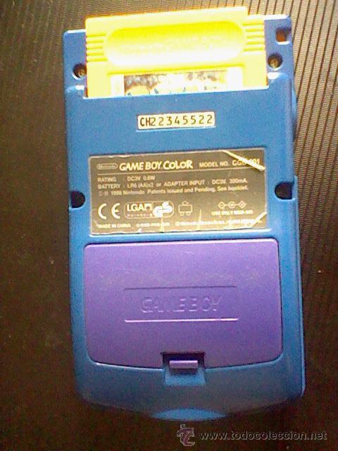 Videojuegos y Consolas: gameboy color pokemon picachu sin tapa pilas + gb color azul + juegos pokemon probado - Foto 7 - 188481806
