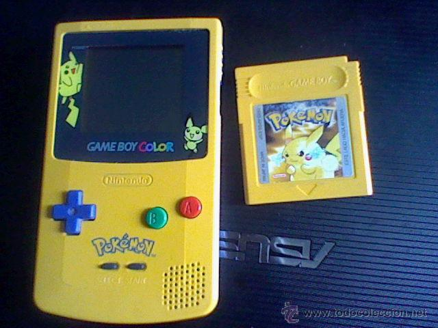 Videojuegos y Consolas: gameboy color pokemon picachu sin tapa pilas + gb color azul + juegos pokemon probado - Foto 8 - 188481806