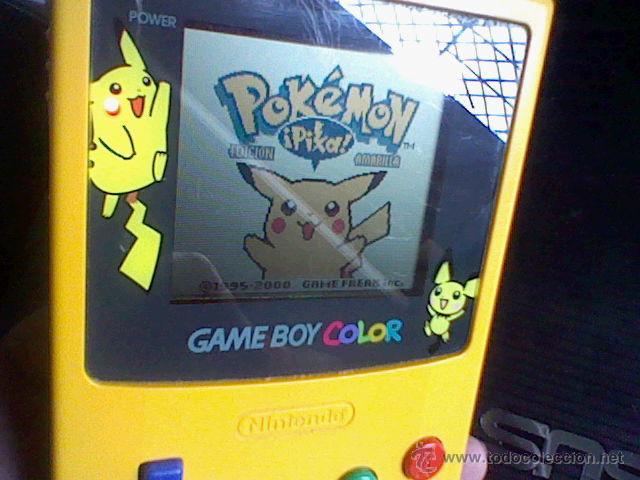 Videojuegos y Consolas: gameboy color pokemon picachu sin tapa pilas + gb color azul + juegos pokemon probado - Foto 11 - 188481806