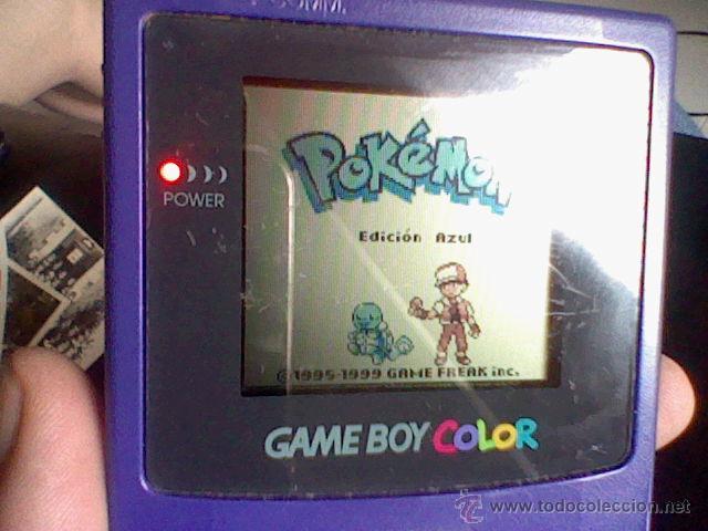 Videojuegos y Consolas: gameboy color pokemon picachu sin tapa pilas + gb color azul + juegos pokemon probado - Foto 12 - 188481806