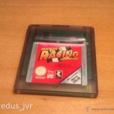 Videojuegos y Consolas: MICKEY'S RACING ADVENTURE JUEGO PARA NINTENDO GAMEBOY GAME BOY COLOR GBC. Lote 43892107