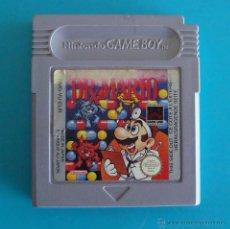 Videojuegos y Consolas: DR X MARIO GAME BOY O GAME BOY COLOR NINTENDO ORIGINAL. Lote 44218386