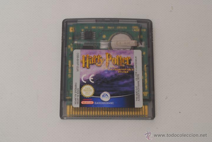 JUEGO DE GAME BOY COLOR. HARRY POTTER. PHILOSOPHER'S STONE. (Juguetes - Videojuegos y Consolas - Nintendo - GameBoy Color)