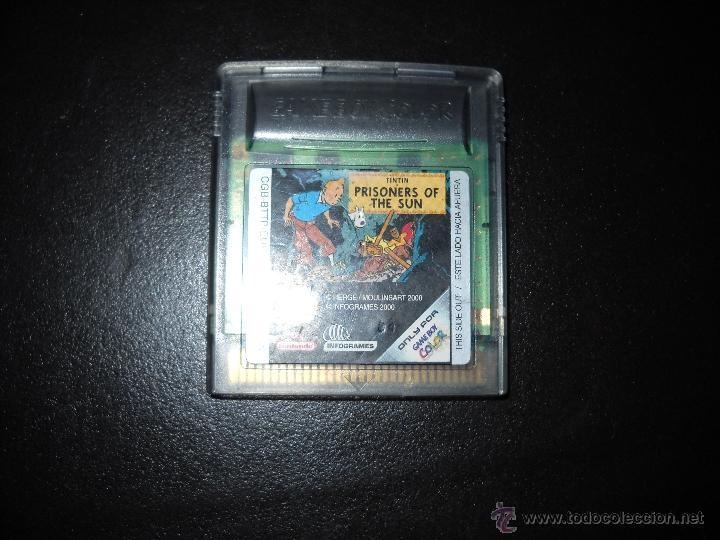 GAME BOY COLOR TINTIN PRISONERS OF THE SUN (Juguetes - Videojuegos y Consolas - Nintendo - GameBoy Color)