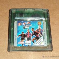 Videojuegos y Consolas: BARCA MANAGER 2000 PARA NINTENDO GAMEBOY COLOR / GBC, PAL. Lote 46051961