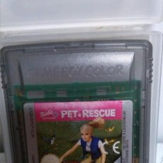 Videojuegos y Consolas: BARBIE PET-RESCUE PARA LA GAME BOY COLOR. Lote 46434035