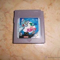 Videojuegos y Consolas: JUEGO DE GAMEBOY TOM Y JERRY NINTENDO GAME BOY COLOR. Lote 72775342