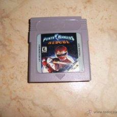 Videojuegos y Consolas: JUEGO DE GAMEBOY POWER RANGERS RESCUE NINTENDO GAME BOY COLOR. Lote 47141973