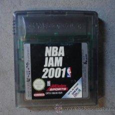 Videojuegos y Consolas: JUEGO ORIGINAL NINTENDO GAME BOY COLOR NBA JAM 2001 BASKET USA. Lote 47445780