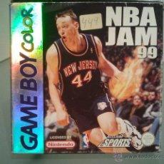 Videojuegos y Consolas: NBA JAM 99 GAMEBOY GAME BOY COLOR ORIGINAL COMPLETO .. Lote 47566736