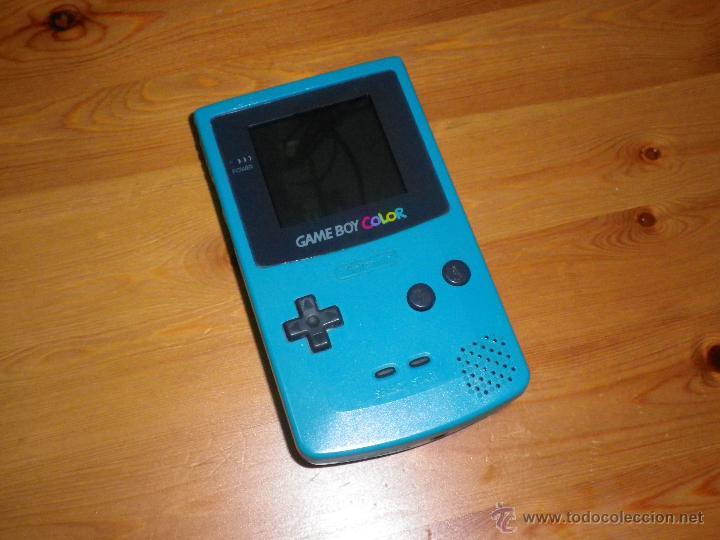 CONSOLA NINTENDO GAMEBOY COLOR TURQUESA (Juguetes - Videojuegos y Consolas - Nintendo - GameBoy Color)