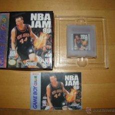 Videojuegos y Consolas: ANTIGUO JUEGO GAMEBOY COLOR NBA JAM 99 - NUEVO. Lote 50007060