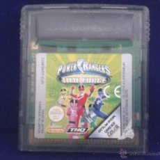 Videojogos e Consolas: JUEGO GAME BOY COLOR POWER RANGERS TIME FORCE PAL R684. Lote 50532471