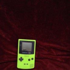 Videojuegos y Consolas: GAME BOY COLOR LIMON. Lote 50581003