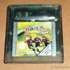 Videojuegos y Consolas: BARCA TOTAL 2000 PARA NINTENDO GAMEBOY COLOR / GBC, PAL.. Lote 53013057
