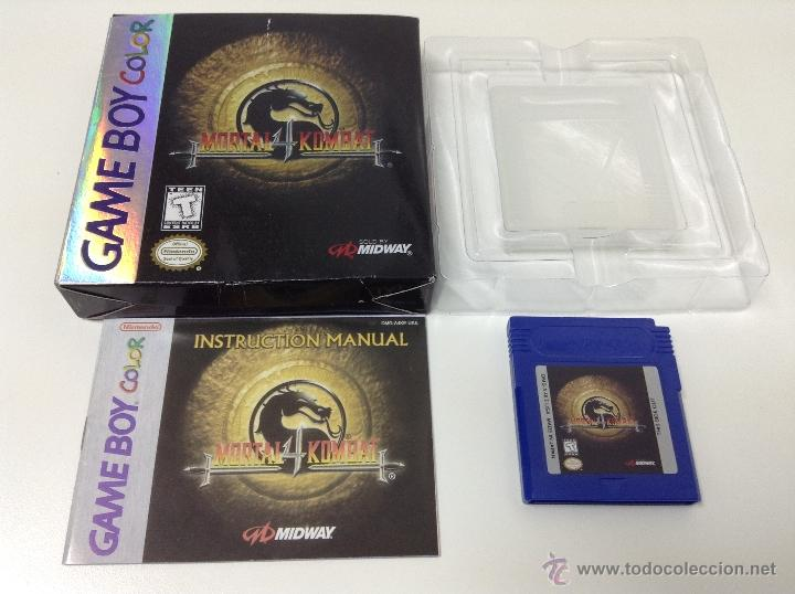 MORTAL KOMBAT 4 .GAME BOY USA (Juguetes - Videojuegos y Consolas - Nintendo - GameBoy Color)